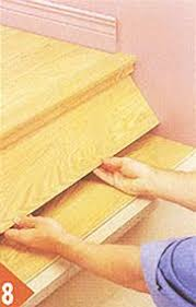 Installing Laminate Flooring On Stairs Great Diy Tutorial For Replacing Carpet On Stairs With Wood I