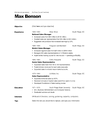 Empty Resume Fill In Resume Template Resume Templates And Resume Builder
