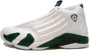 Deep Forest Green Air Jordan 14 Xiv Retro White Black Deep Forest Green