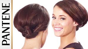 Easy Wedding Hairstyles For Short Hair by Easy Updos For Short Hair Twisted Low Chignon Youtube