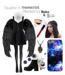 Percy Jackson Halloween Costume Daughter Thanatos Blessed Hades U0026 Hecate