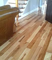 Discount Solid Hardwood Flooring - amazon com hickory character natural prefinished solid wood