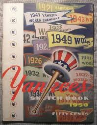yearbook programs 28 best new york yankees yearbooks images on new york