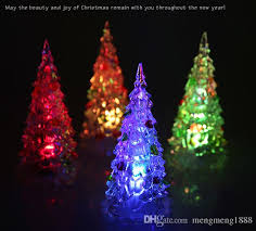 most popular christmas tree lights changing acrylic christmas tree led night light desk l decor gift