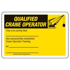 certification photo wallet cards qualified crane operator seton
