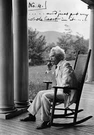 Jesus Has A Rocking Chair Heaven And Earth Mark Twain