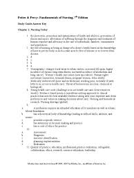 nursing study guide answer key clinical trial nursing