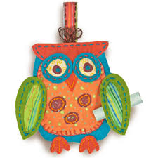 whimsical owl felt ornament kit by dimensions