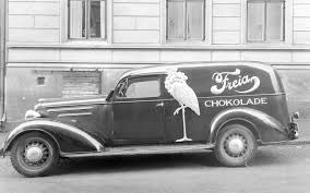 chocolate delivery file freia chocolate delivery truck jpg wikimedia commons
