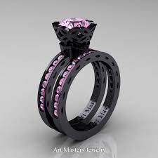 Black Wedding Ring by Armenian