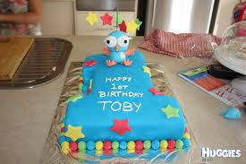 1st birthday hoot cake huggies birthday cake gallery huggies