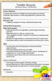 Child Actor Resume Sample by Funny Job Resumes Contegri Com