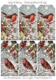 1908 christmas robins u2013 free printable gift tags u2013 wings of whimsy