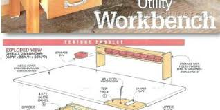 heavy duty workbench diy done right 01 pinterest garage finals and