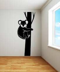 nature wall decals nature stickers for walls stickerbrand vinyl wall decal sticker koala in tree os mb980