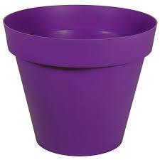 Rideaux Couleur Prune by Pot Plastique Eda Diam 80 X H 67 Cm Prune Leroy Merlin