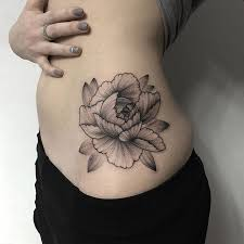 black and dot work peony tatto by wpkorvis imgur