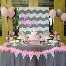 pink and grey baby shower best 25 grey baby shower ideas on baby shower