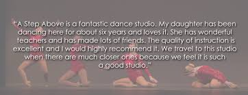 a step above a step above dance music academy