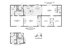 2 bedroom 2 bath single wide mobile home floor plans