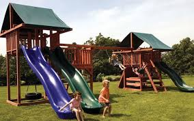 Swing Set For Backyard by Best Ways Playground Sets Promote Active Lifestyles In Kids