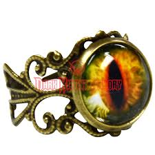 dragon jewelry rings images Antique evil dragon 39 s eye ring lb296 from dark knight armoury png