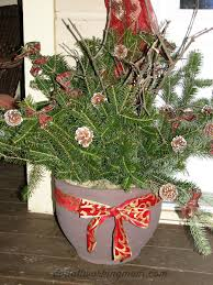Christmas Decorations Outdoor by Christmas Container And Outdoor Decoration Ideas Do It All