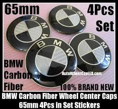 black and white bmw roundel bmw carbon fiber black white wheel center hubs caps 65mm roundel