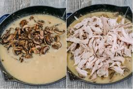 mushroom gravy its not easy leftover turkey in creamy mushroom sauce natashaskitchen com
