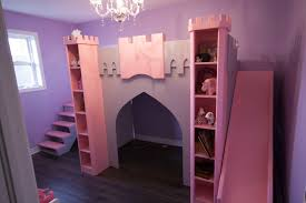 double bed for girls little princess bed with slide ktactical decoration
