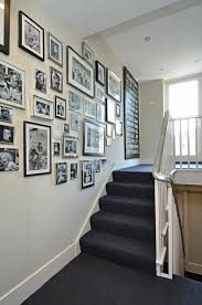 stairs wall decoration ideas staircase transitional with picture
