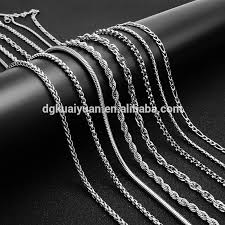 necklace chain metal types images Jewelry accessories wholesale jewelry suppliers alibaba jpg