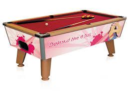 custom pool table graphics poster signs