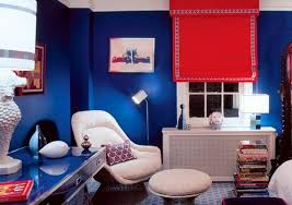 Blue And Red Color Combination 22 Ideas For Modern Interior Decorating With White And Blue Color