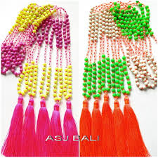 two color combinations beads stone tassels two color combinations great style beads