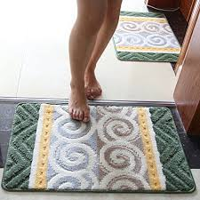 Bathroom Floor Mats Rugs Ihappy Geometric Bath Mat Absorbent Bathroom Floor Pad Non Slip