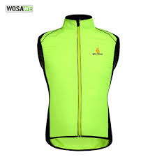 mtb cycling jacket wosawe tour de france windproof cycling jerseys sleevless cycle