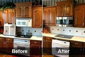 restaining cabinets darker without stripping staining oak cabinets refinishing oak cabinets image of refinish oak