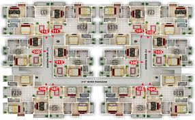 Apartment Block Floor Plans Siddhivinayak Enclave Top Construction Company In Patna