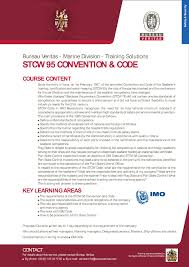 bureau veritas portal stcw 95 convention and code