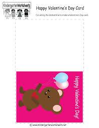 valentine u0027s day greeting card free kindergarten holiday