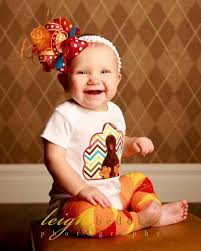 baby chevron thanksgiving turkey set