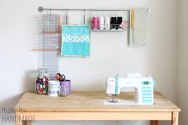 How To Make A Sewing Table by Make It Handmade Easy Diy Ikea Sewing Table Hack