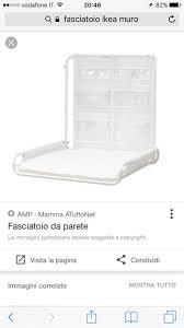 Fasciatoio A Muro Prenatal by Bagnetto Fasciatoio Ikea Affordable Jasne Kolory I Minimalizm Od