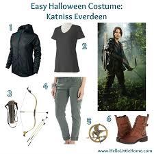 Katniss Everdeen Halloween Costume Tweens U0027s Late 4 Easy Halloween Costumes