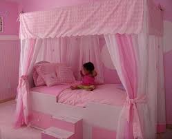 Toddler Bed With Canopy Canopy Bed For Toddler Image Of Princess Canopy Toddler Bed