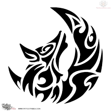 tatoo design tribal 43 tribal moon tattoos