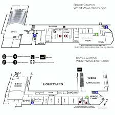 boyce campus west wing 3rd u0026 4th floor ccac boyce campus maps