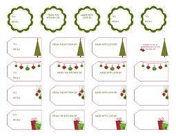 christmas gift tag templates free christmas holiday 2017