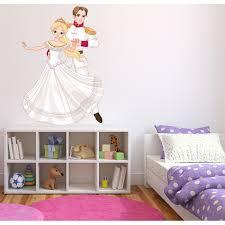 autocollant chambre fille stickers prince princesse stickers chambre fille sticker princesse